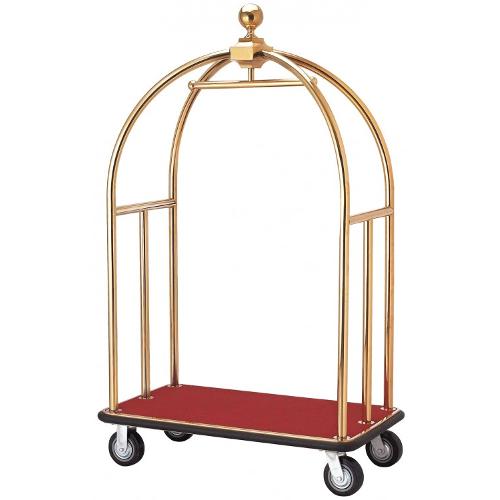 Cărucior bagaje RED - colivie aurie