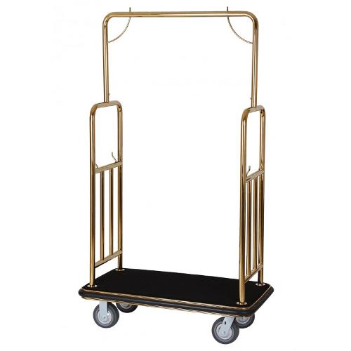 Cărucior pentru bagaje QUICK (cadru auriu)