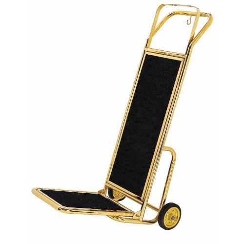 Cărucior transport bagaje - Handcart (auriu)