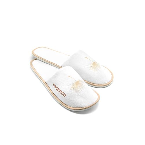 Essence - Papuci hotelieri (alb)