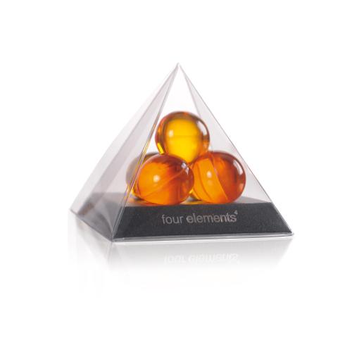 Four Elements - Piramide cu bile de ulei pentru baie
