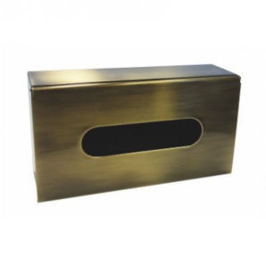 Retro - cutie șervețele Kleenex (bronz)