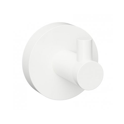 White - Agățător simplu pentru halat