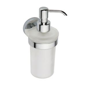 Omega - Dispenser săpun, sticlă mată, 250ml