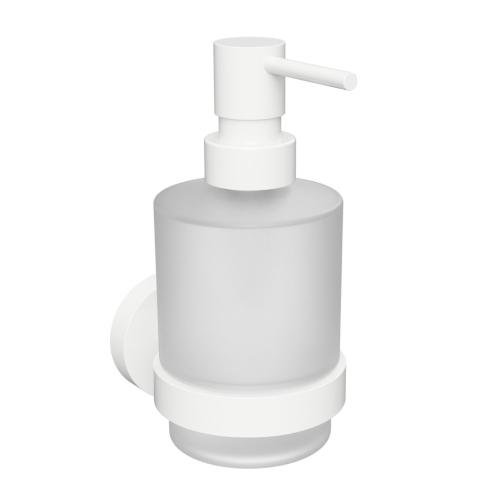 White - Dispenser săpun cu prindere în perete, 200 ml