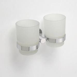 Omega - Suport dublu pentru pahare, cu pahare
