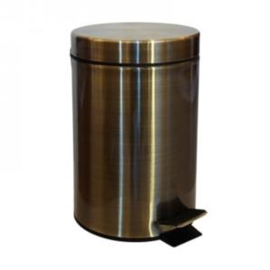 Retro - coș gunoi 3 litri (bronz)
