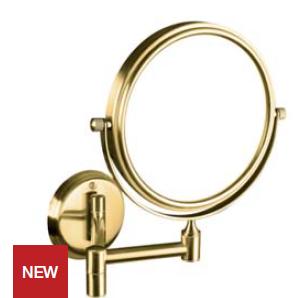 Retro - oglindă cosmetică (gold)