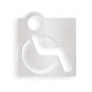 Indicator ușă toaletă persoane cu dizabilități