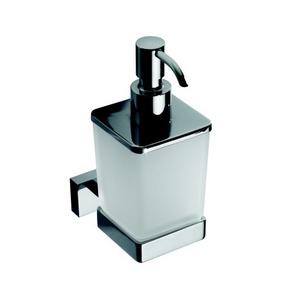 Plaza - Dispenser săpun, sticlă mată, 200 ml