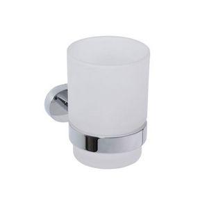 Oval - Suport pahat cu pahar (simplu)
