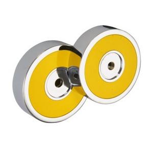 Trend-i - Suport detaşabil pentru accesorii (galben)