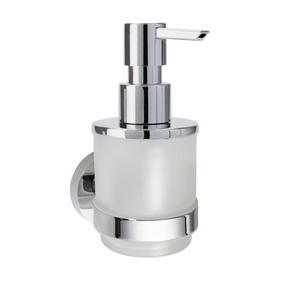 Omega - Dispenser săpun, MINI, sticlă, 200 ml