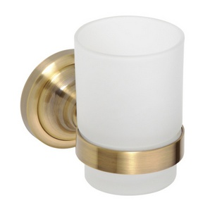 Retro - Suport pahar cu pahar (simplu) - Bronz