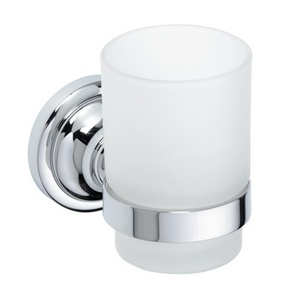 Retro - Suport pahar cu pahar (simplu) - Chrom