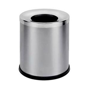 Bemeta - Coș de gunoi inox mat