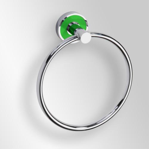 Trend-i - Suport inel pentru prosop (verde)