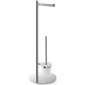 Omega : Perie pentru wc şi suport pentru hârtie igienică