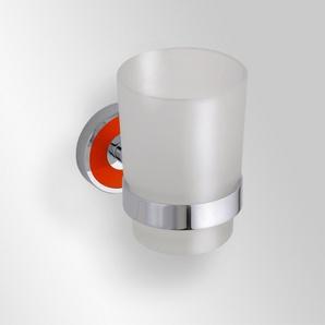 Suport (portocaliu) simplu pentru pahar