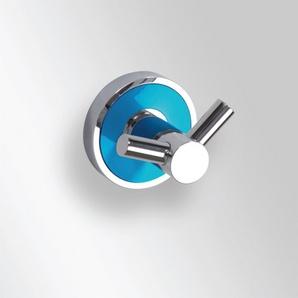 Trend-i - Suport dublu pentru halat (bleu)