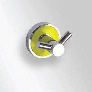 Trend-i - Suport dublu pentru halat (galben)