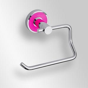 Trend-i - Suport fără capac pentru hârtia igienică (roz)