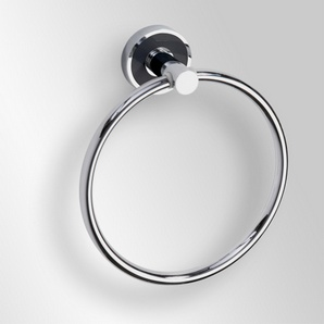 Trend-i - Suport inel pentru prosop (negru)