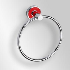Trend-i - Suport inel pentru prosop (roşu)