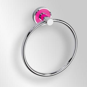 Trend-i - Suport inel pentru prosop (roz)