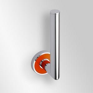 Trend-i - Suport pentru rezerva de hârtie igienică (portocaliu)