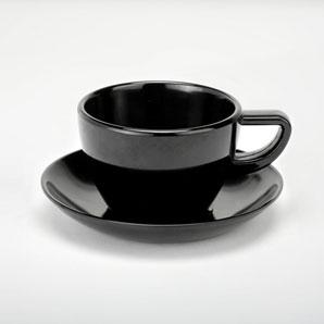 MELON - Ceaşcă şi farfurie cafea din melamină