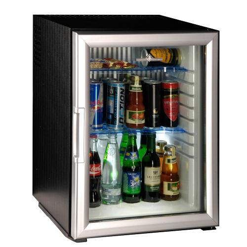 Minibar Peltier cu ușă de sticlă (40 l)