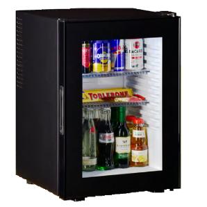 Minibar Peltier cu ușă de sticlă (32 litri)