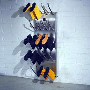 Sistem profesional de uscare pentru pantofi, ghete şi clăpari