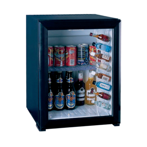 Minibar absorbție cu ușă de sticlă (40 l)