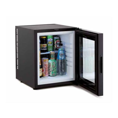 Minibar termoelectric 30 litri - ușă de sticlă