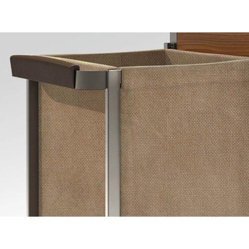 Mâner de lemn pentru cărucior cameristă